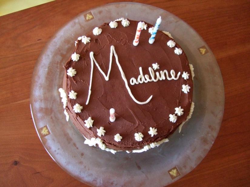 M's birthday cake #2