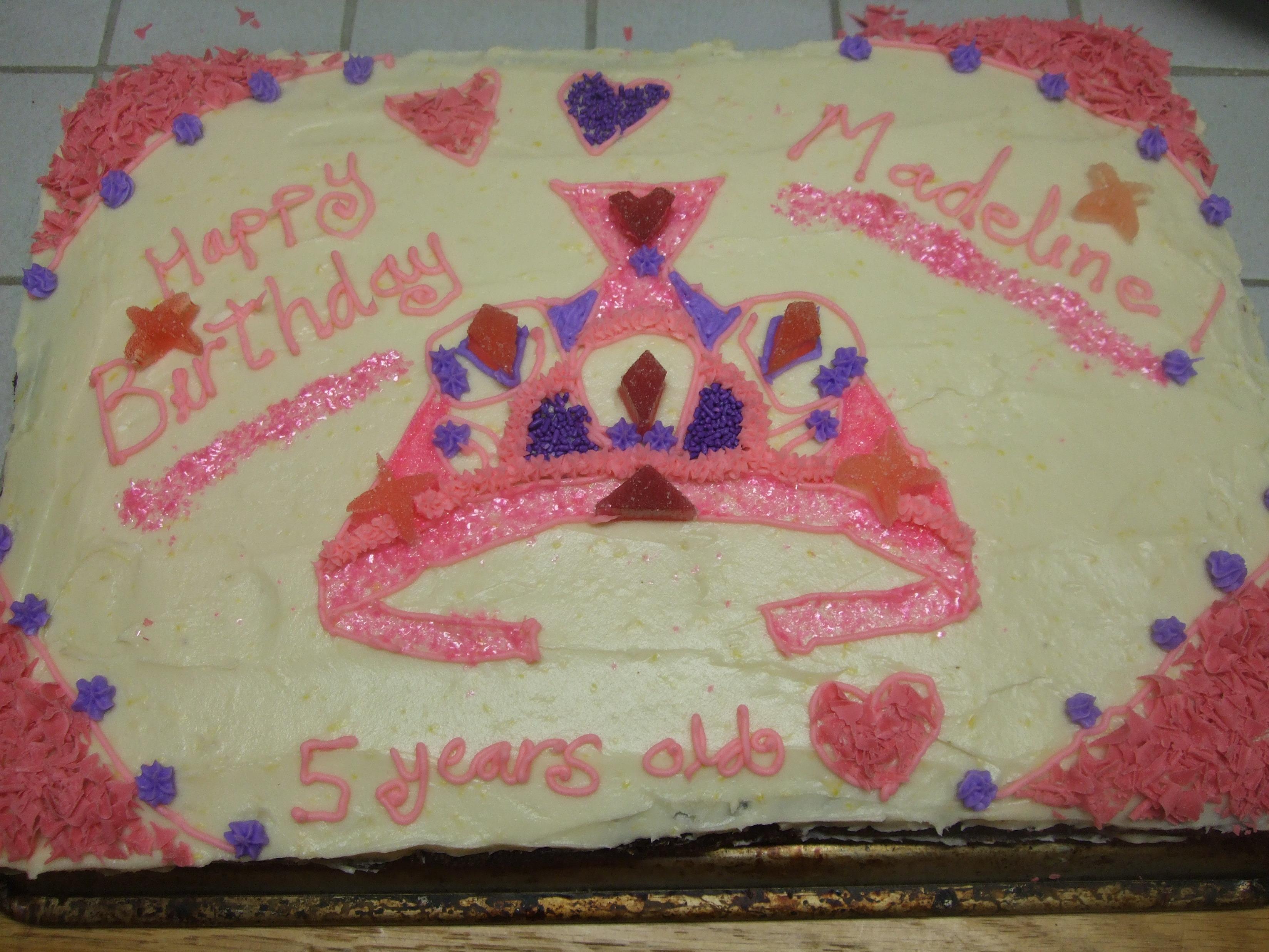 Birthday Cakes Zoe Finkel